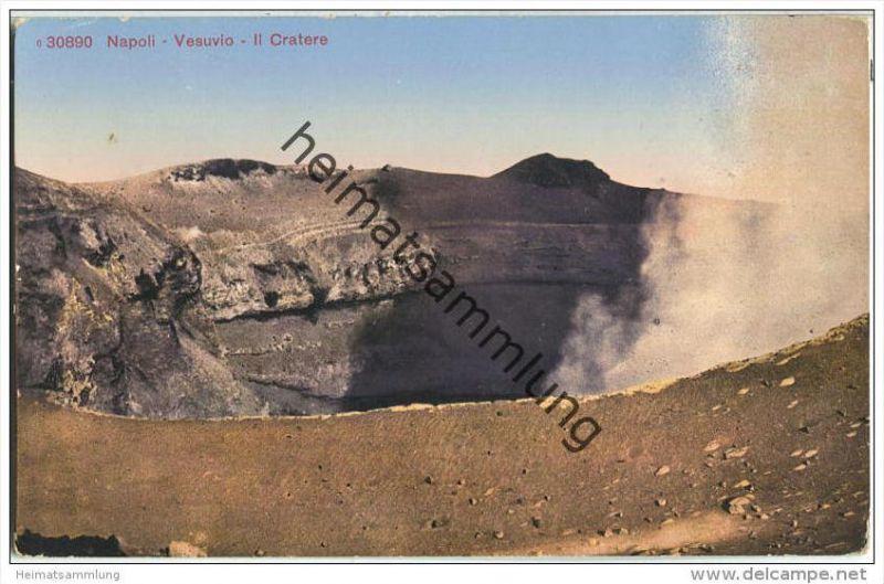 Napoli - Vesuvio - Il Cratere