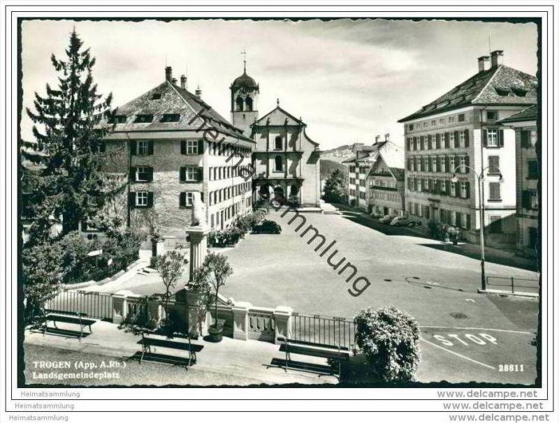 Trogen - Landesgemeindeplatz - Foto-AK Grossformat
