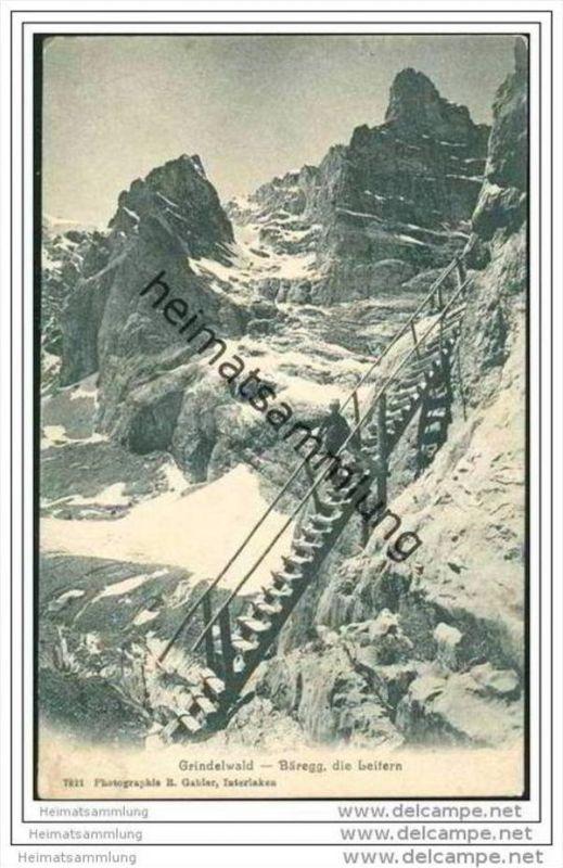 Grindelwald - Bäregg - die Leitern 0