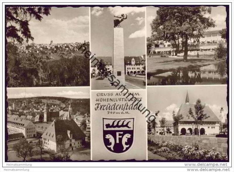 Freudenstadt - Foto-AK Grossformat