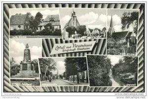 Neuenhaus - Grafschaft Bentheim - Kirche - Oelwall 50er Jahre