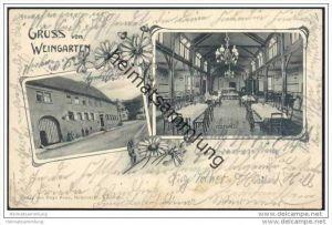 Weingarten in Baden - Gasthaus zum Löwen - Festhalle