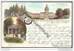 Berlin-Charlottenburg - Schloss - Mausoleum - Stempel EK Charlottenburg 1 c