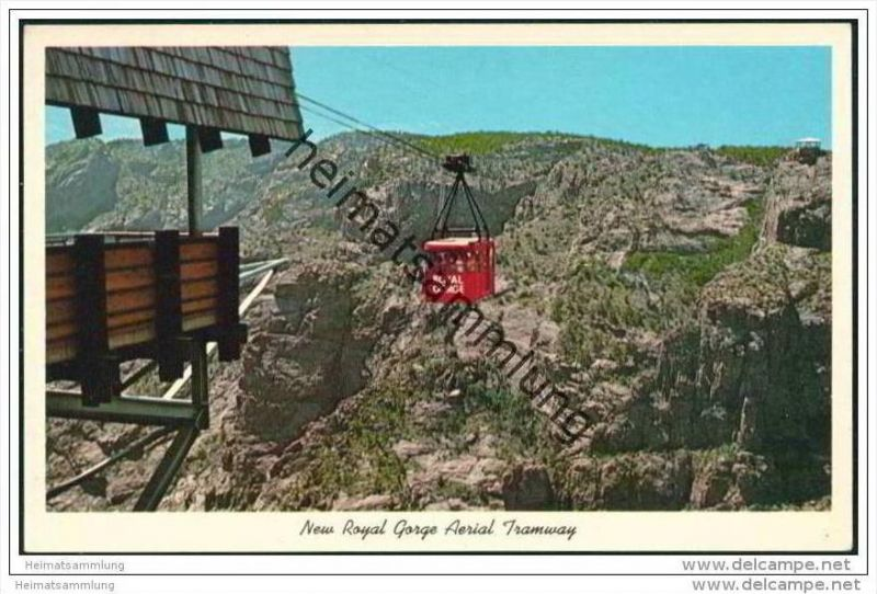 Seilbahn - New Royal Gorge Areal Tramway - USA-Colorado