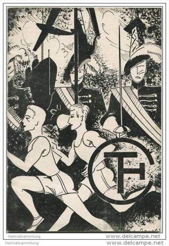 Dies Academicus 1. Juli 1932 Technische Hochschule - Sommersportfest 1932 - 46 Seiten mit 8 Abbildungen