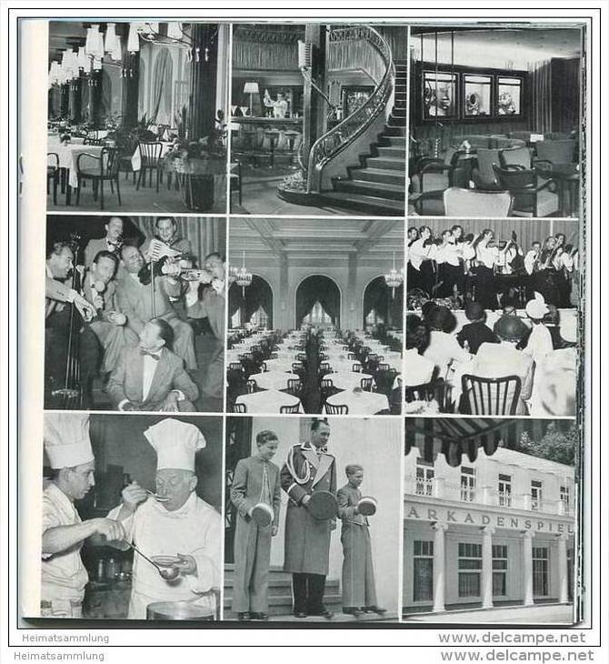 Travemünde 1955 - 32 Seiten mit 53 Abbildungen - 24 Seiten Unterkunfts-Verzeichnis 1