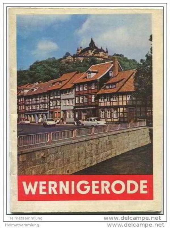 Wernigerode 60er Jahre - 32 Seiten mit 34 Abbildungen