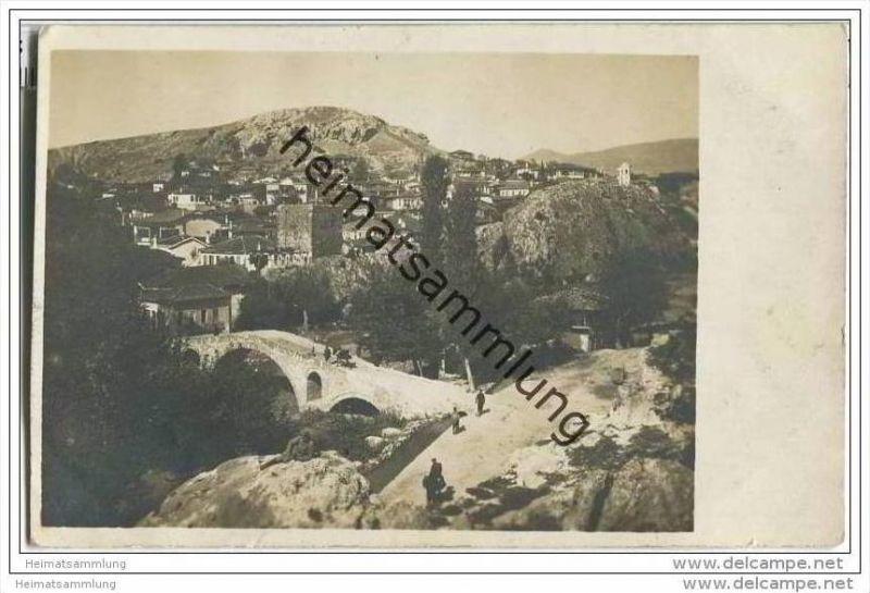Demir Hisar - Brücke - Gesamtansicht - Foto-AK