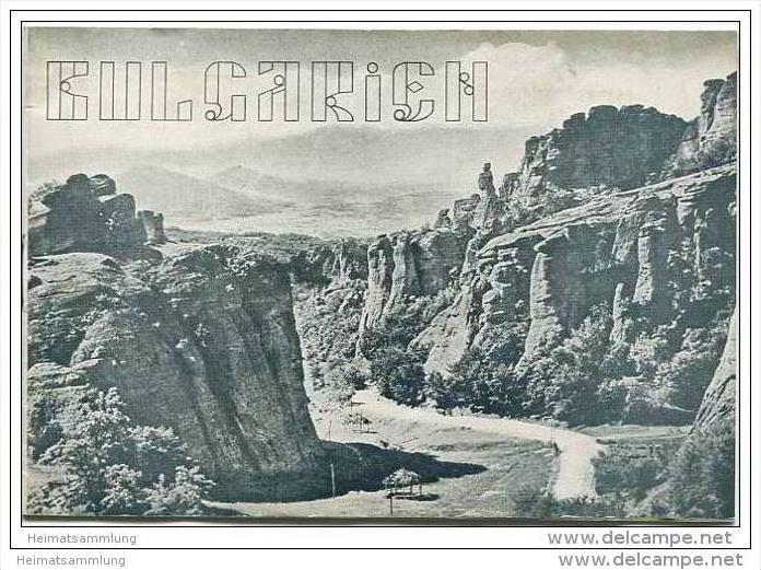 Bulgarien 1939 - 16 Seiten mit 22 Abbildungen