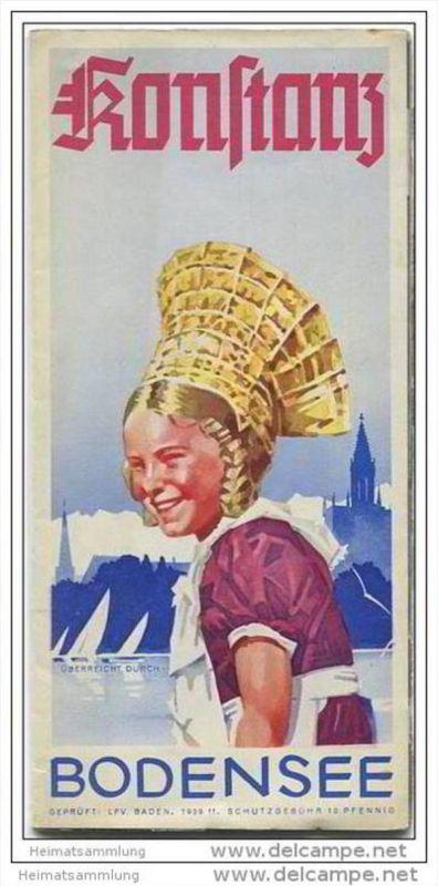 Konstanz 1939 - 12 Seiten mit 11 Abbildungen