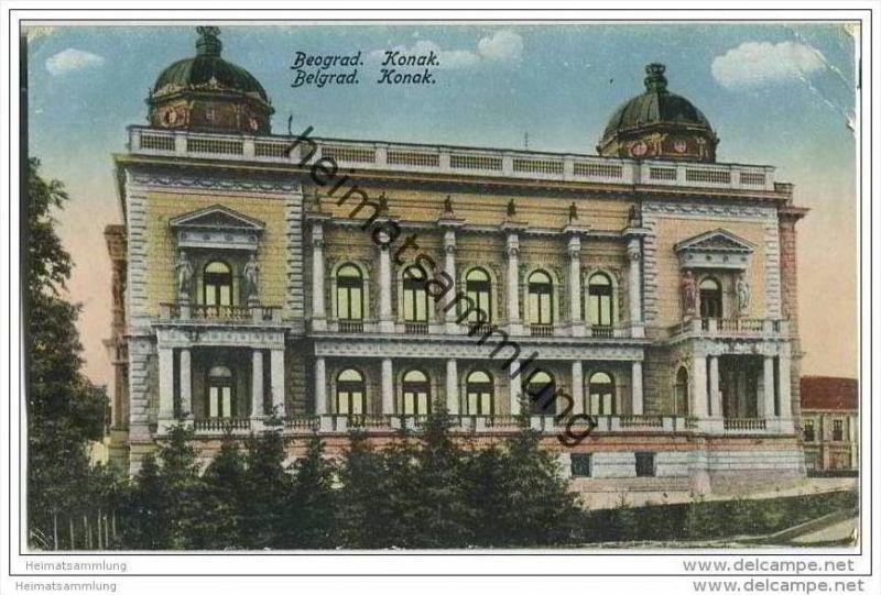 Beograd - Belgrad - Konak