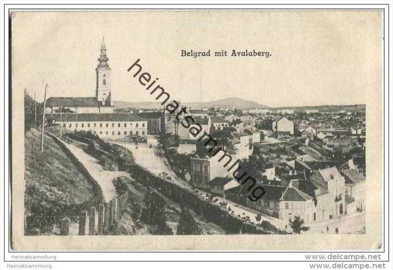 Beograd - Belgrad - Avalaberg