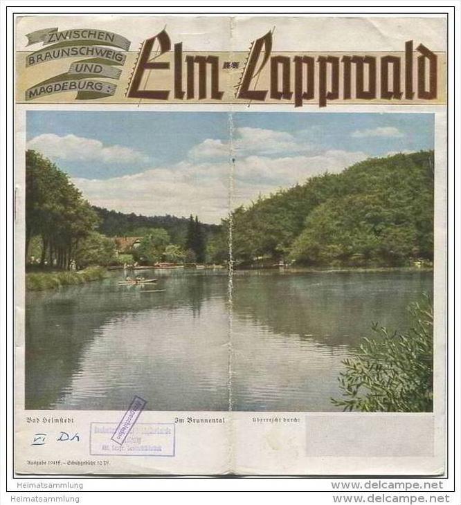 Elm-Lappwald 1941 - 8 Seiten mit 12 Abbildungen
