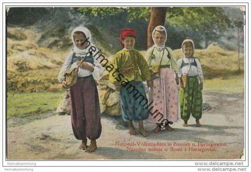 Bosnien-Herzegowina - Bosne i Hercegovine - National-Volkstrachten