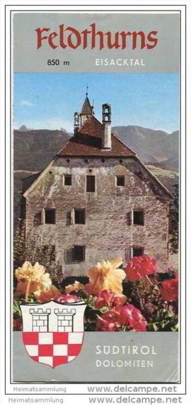 Feldthurns - Velturno - Faltblatt mit 7 Abbildungen