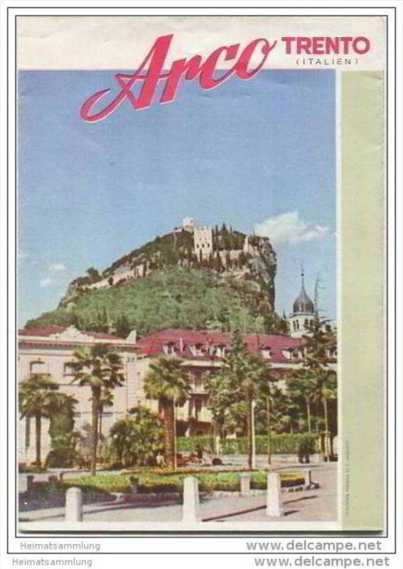 Arco 1957 - Faltblatt mit 7 Abbildungen