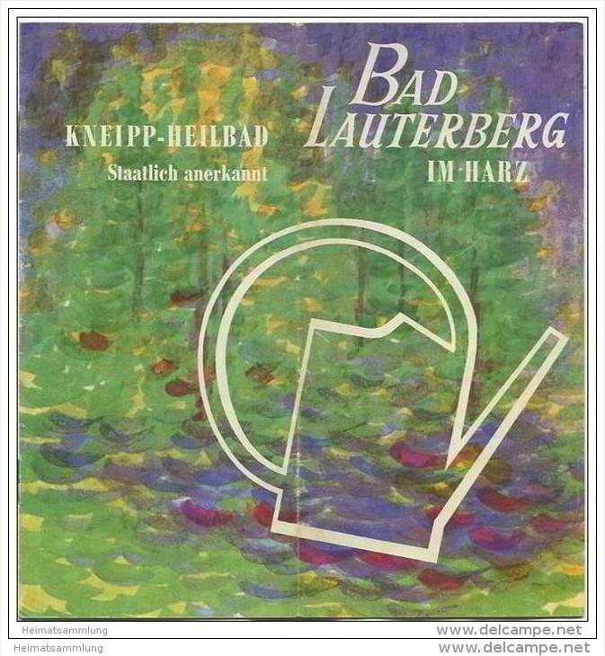 Bad Lauterberg 1971 - 12 Seiten mit 22 Abbildungen - beiliegend
