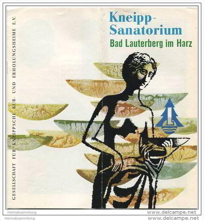 Bad Lauterberg - Kneipp Sanatorium Haus Ritscher - 8 Seiten mit 15 Abbildungen