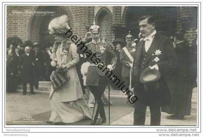 Deutsches Reich - Kronprinzenpaar