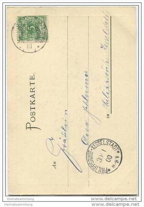 Deutsches Reich - Kaiserin Auguste Viktoria - Heliokarte 1