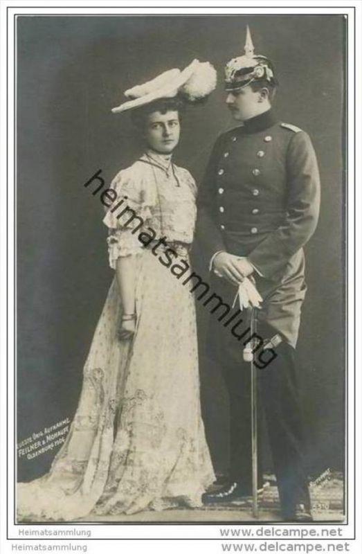 Deutsches Reich - Prinz Eitel Friedrich - Prinzessin Sophie Charlotte von Preussen