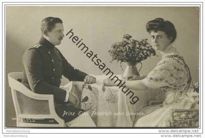 Deutsches Reich - Prinz Eitel Friedrich von Preussen nebst Gemahlin