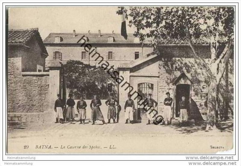 Batna - Caserne des Spahis