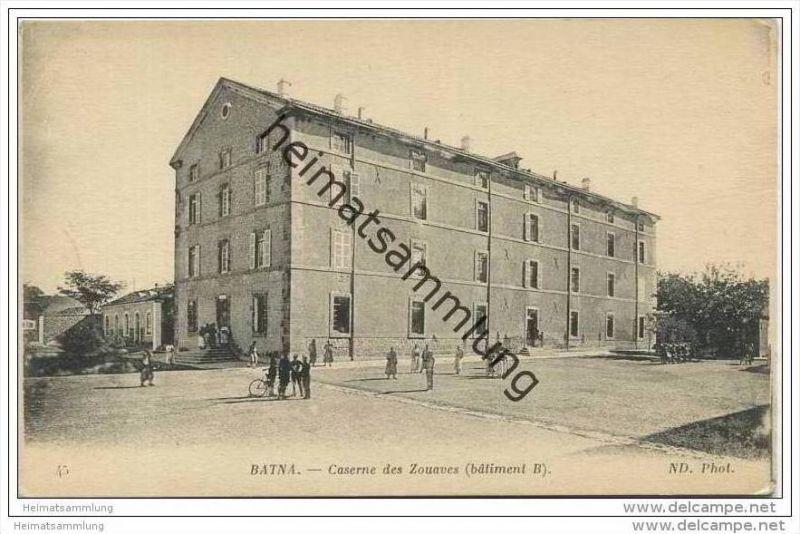 Batna - Caserne des Zouaves - batiment B