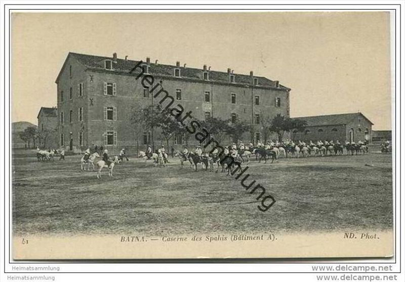 Batna - Caserne des Zouaves - batiment A