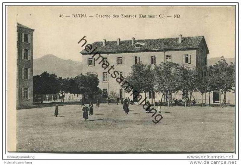 Batna - Caserne des Zouaves - Batiment C
