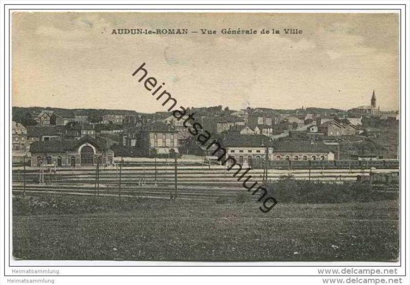 Audun le Roman - Vue generale de la Ville
