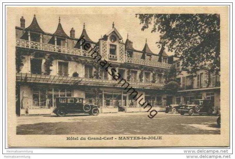 Mantes la Jolie - Hotel du Grand Cerf