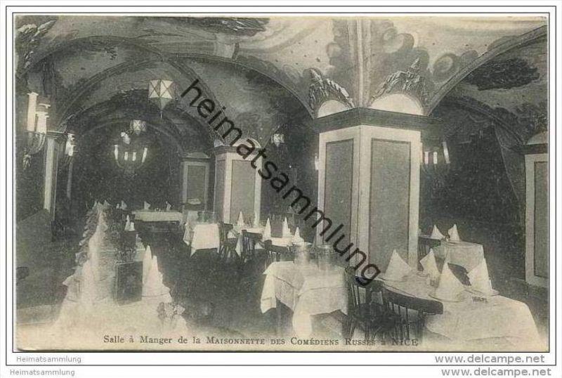 Nice - Salle a Manger de la Maisonnette des Comediens Russes Nr ...