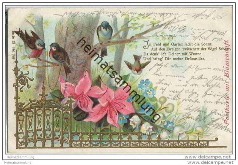 Blumen - Vögel - Blumenduft