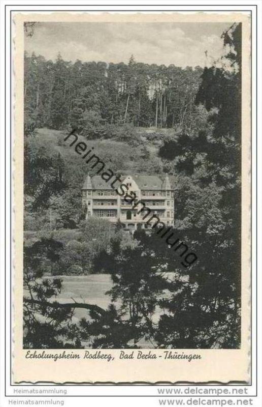 Bad Berka - Erholungsheim Rodberg 30er Jahre