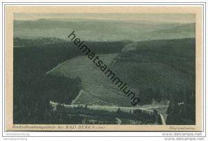 Bad Berka - Reichsehrenhaingelände - Junkers-Luftbild