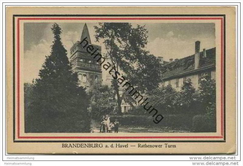 Brandenburg / Havel - Rathenower Turm 30er Jahre