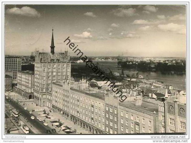 Rostock - Foto-AK Grossformat