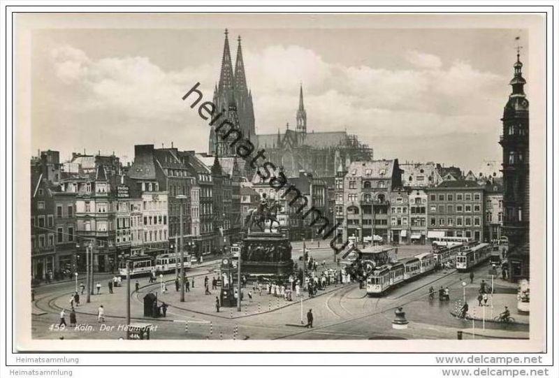 Köln - Der Heumarkt - Foto-AK