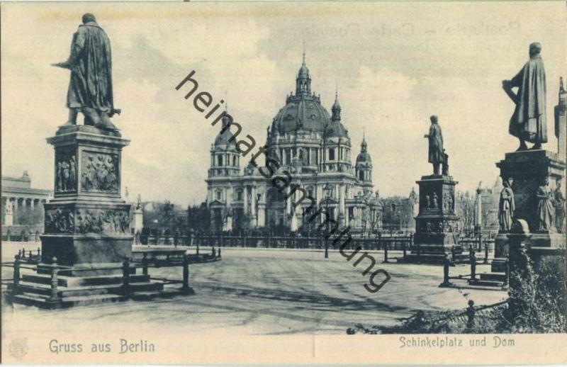 Gruss aus Berlin - Schinkelplatz und Dom