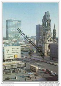 Berlin - Gedächtniskirche - Europa-Center - AK Grossformat