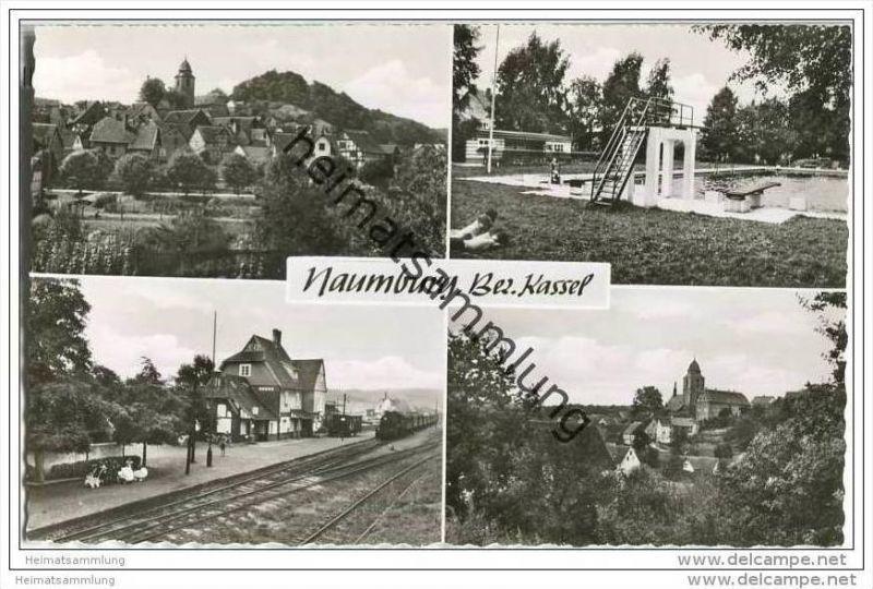 34311 Naumburg - Mehrbild - Bahnhof - Freibad - Gesamtansicht