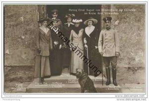 Herzog Ernst August von Braunschweig - von Cumberland - von Mecklenburg - Photograph Carl Greve