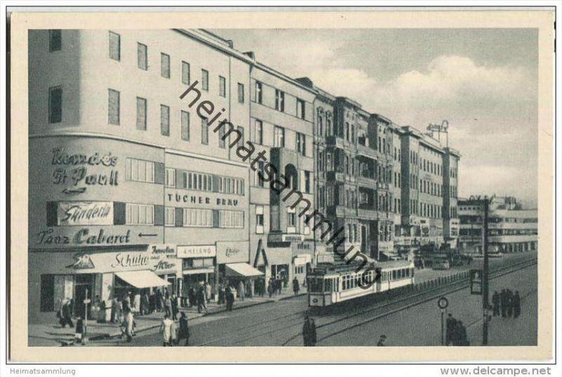 Berlin im Wiederaufbau - Joachimstaler Straße - Straßenbahn