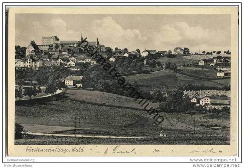 Fürstenstein - Gesamtansicht