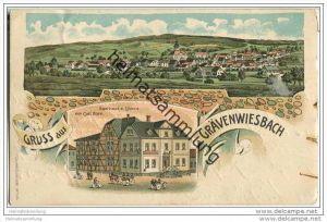 Grävenwiesbach - Gasthaus zum Löwen von Carl Born