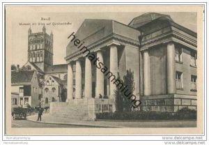 Neuss - Museum - Quirinuskirche