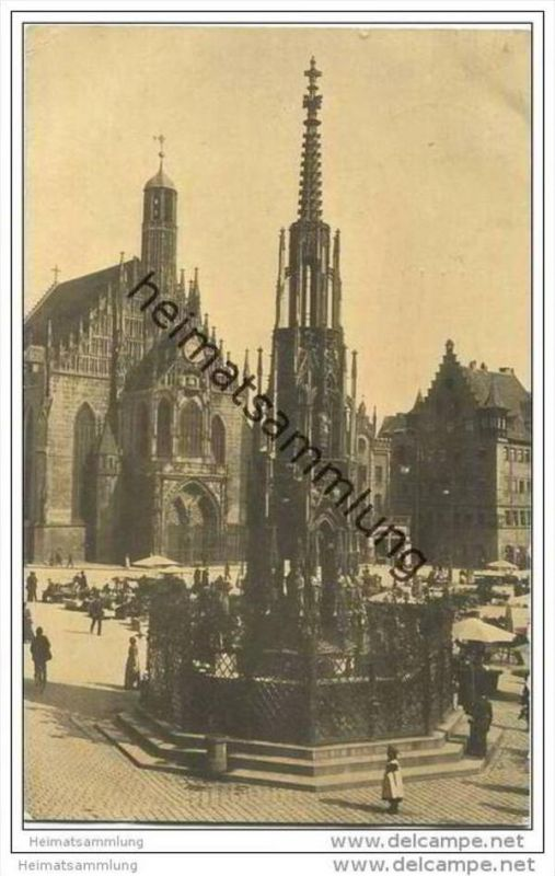 Nürnberg - Schöner Brunnen