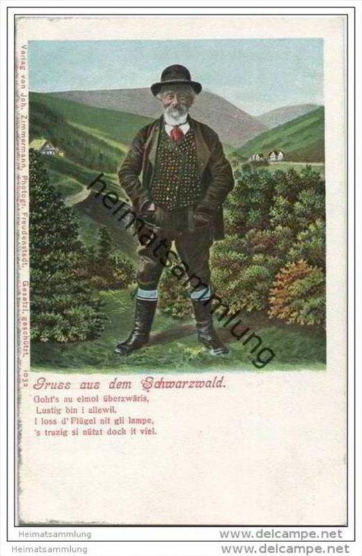 Gruss aus dem Schwarzwald - Schwarzwälder