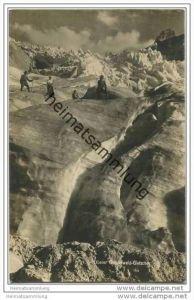 Oberer Grindelwald Gletscher - Foto-AK ca. 1920
